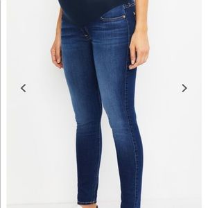7 For All Mankind Skinny Maternity Jeans